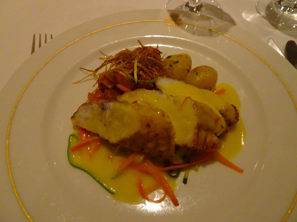 Monk Fish - Britannia Dinner