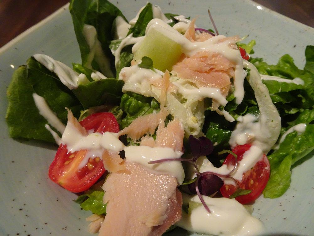 Seafood Salad - Corinthia Lounge