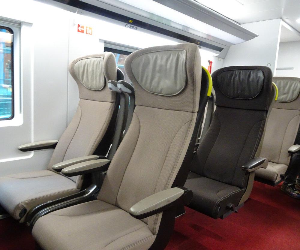 Duo Seating - Eurostar Premier  Photo: Calvin Wood