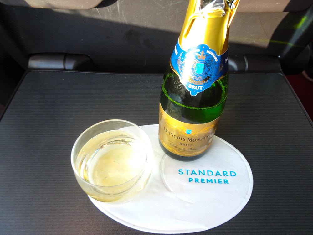 Champagne Treats - Eurostar Premier  Photo: Calvin Wood