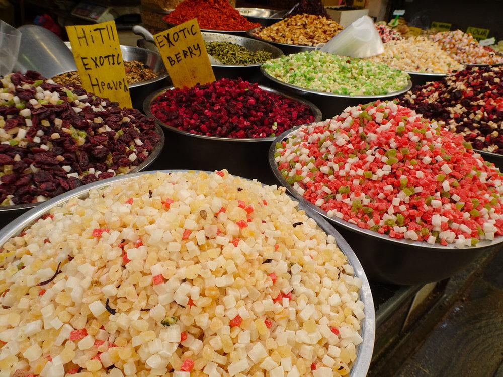 Spices for Rice - Shuk Machane Yehuda Jerusalem  Photo: Calvin Wood