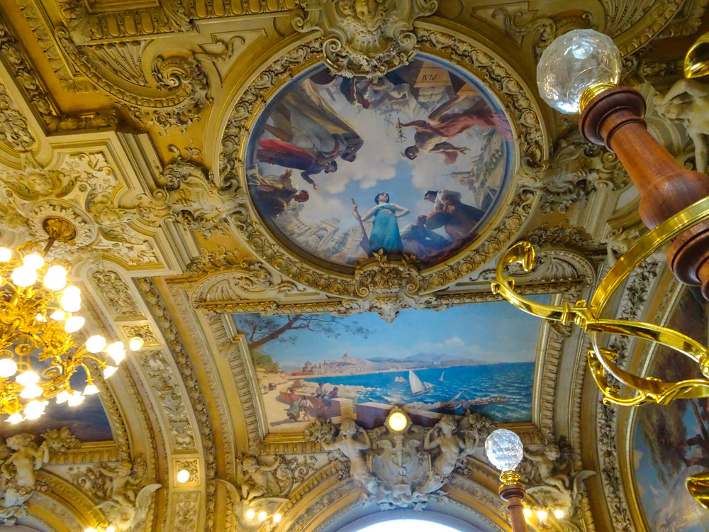 Le Train Blue Paris - Ceiling - Gare de Lyon  Photo:  Calvin Wood