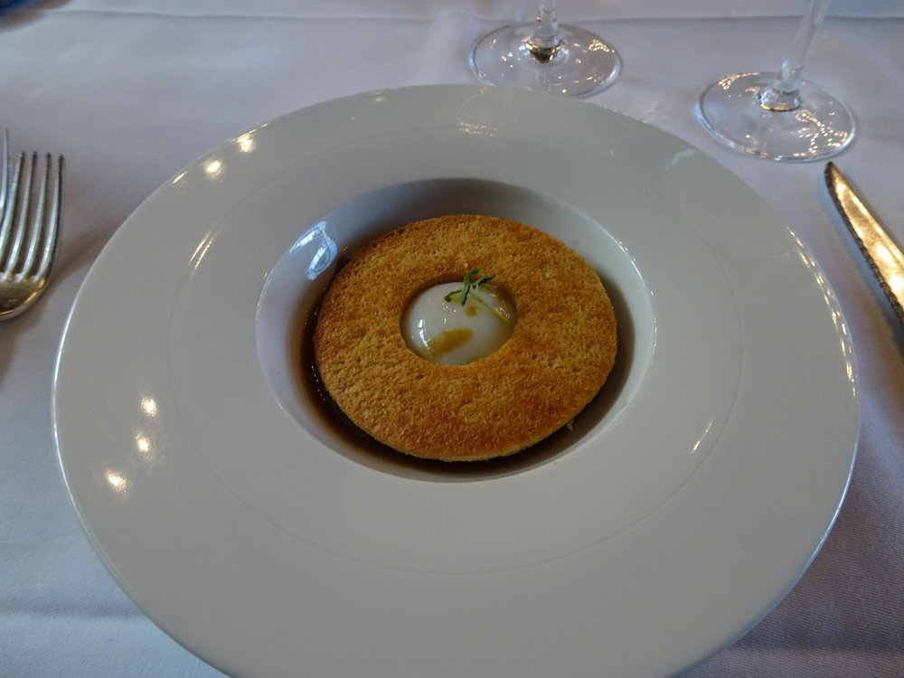 "The ""Perfect Egg"" appetizer  - Le Train Blue - Paris   Photo:  Calvin Wood"