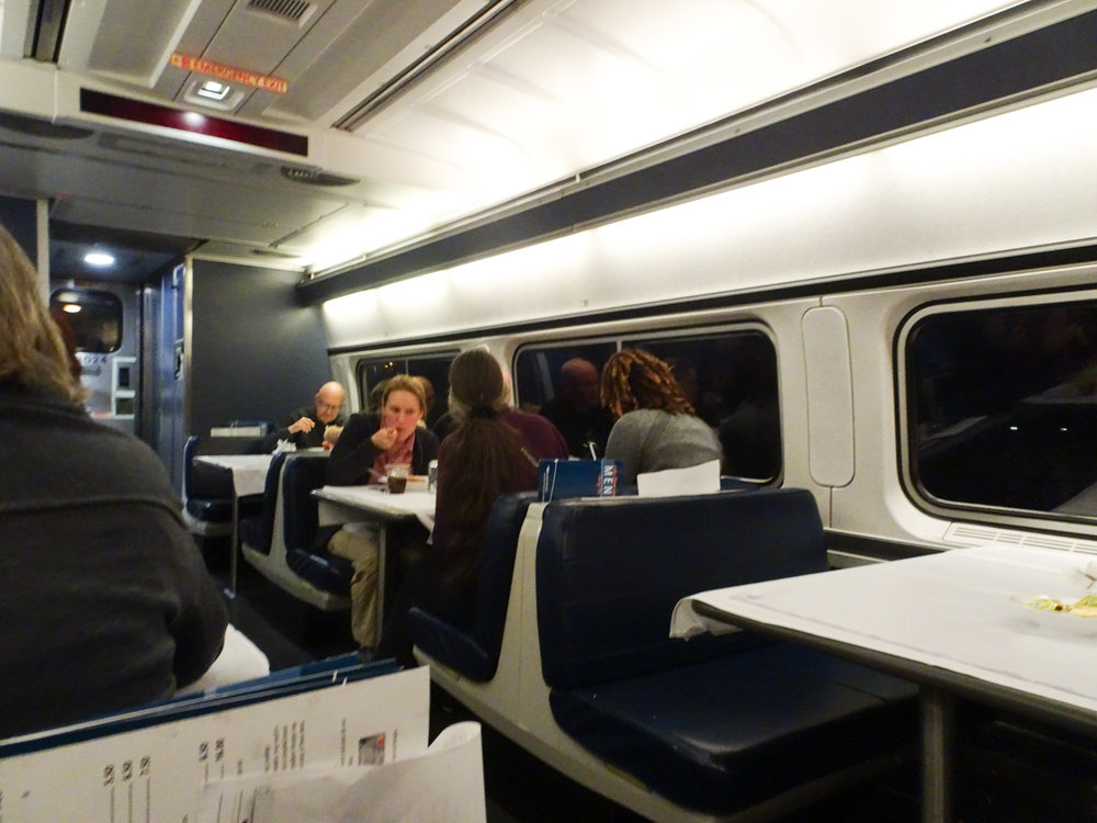 Dining Car - Amtrak Lakeshore Limited  Photo: Calvin Wood