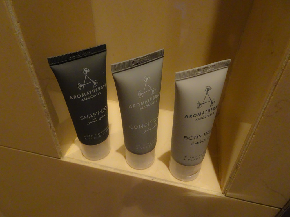 Shower Products - JW Marriott Marquis Dubai  Photo:  Calvin Wood