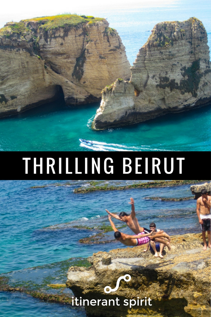 The most glam, beautiful places to visit in Beirut.