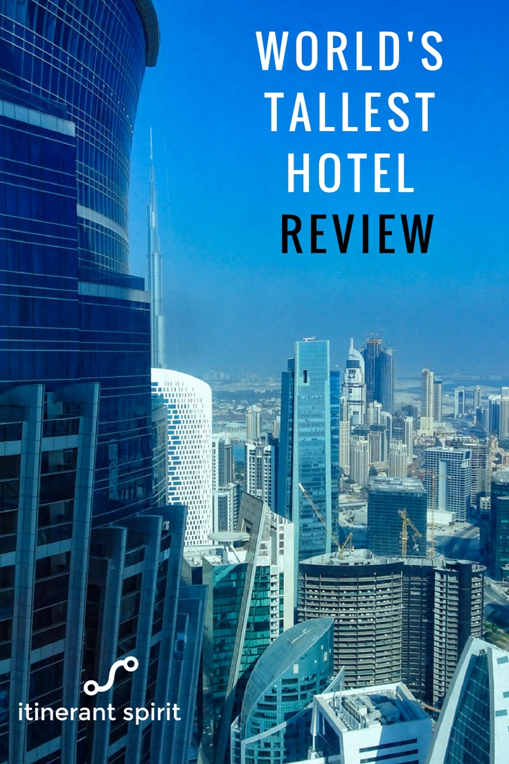 JW Marriott Marquis Review-Itinerant Spirit