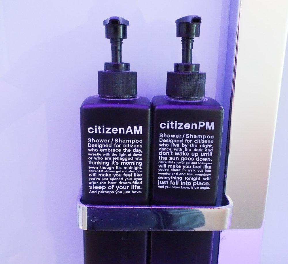 Toiletries Citizen M
