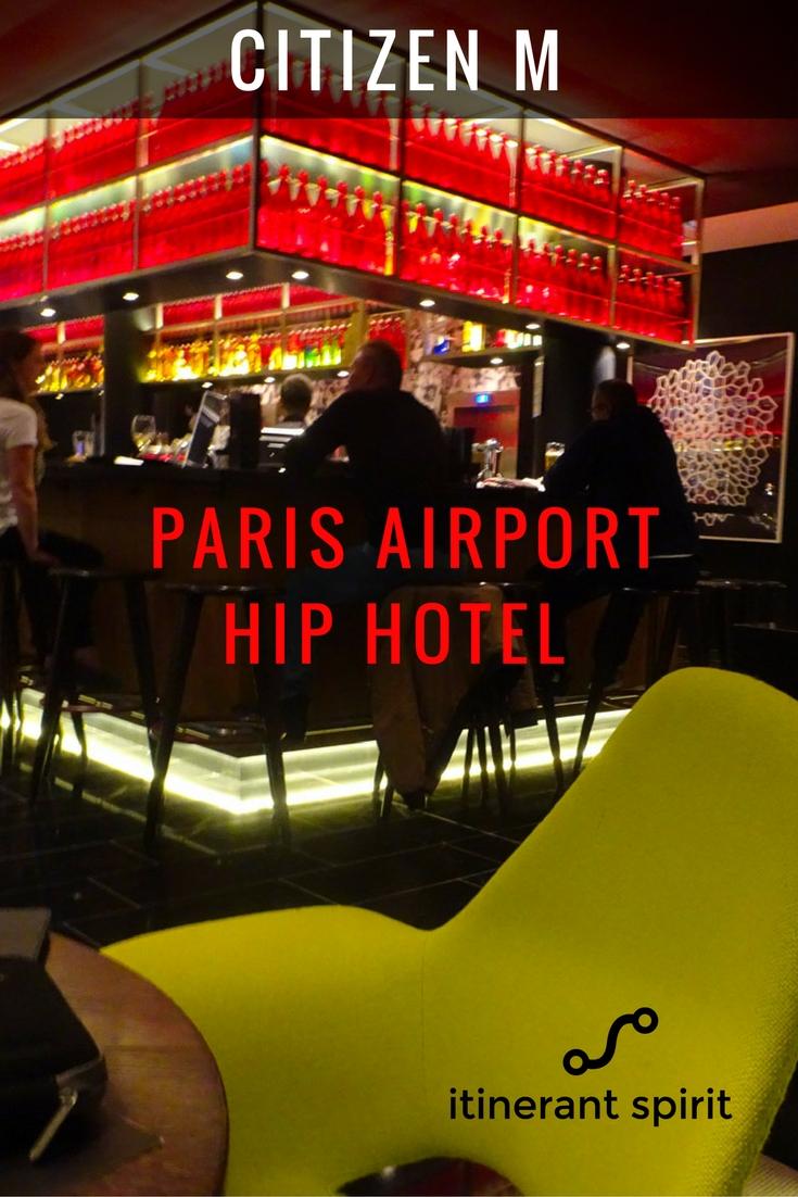 Citizen M Paris Hotel Review-Itinerant Spirit