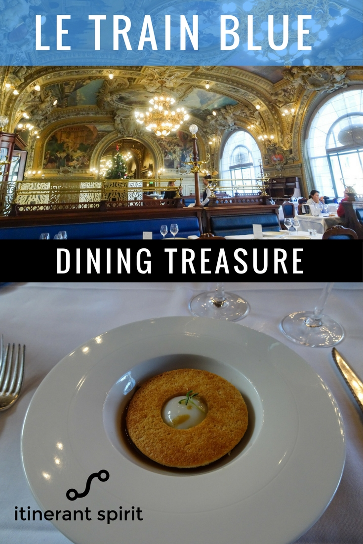 Iconic Parisian Restaurant-Le Train Blue-Itinerant Spirit