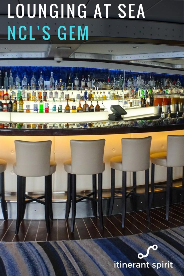 NCL Gem Cruise Bar Review - Itinerant Spirit
