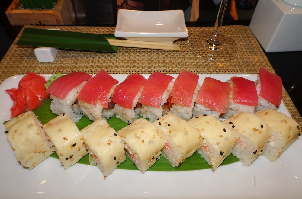 Rolls - Sushi Bar - NCL Gem   Photo: Calvin Wood