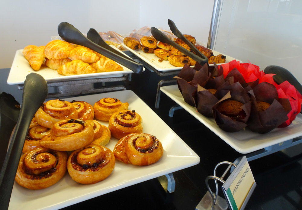 Pastries - The Garden Café - NCL Gem   Photo:  Calvin Wood