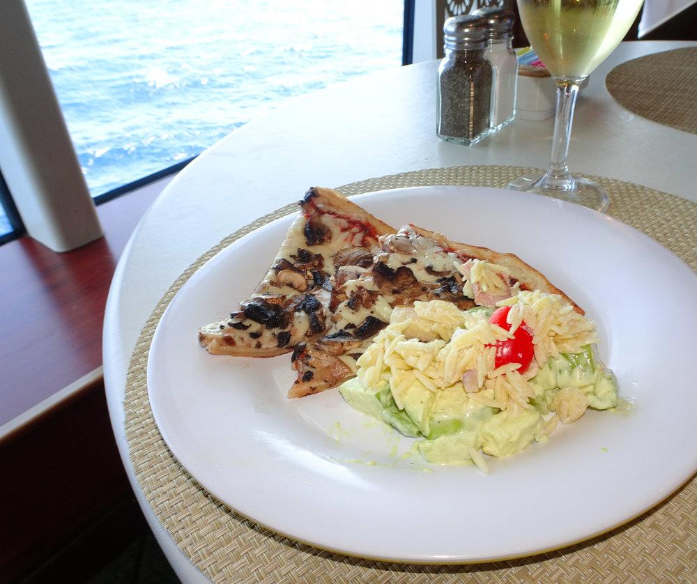 Pizza - La Cucina - NCL Gem  Photo: Calvin Wood