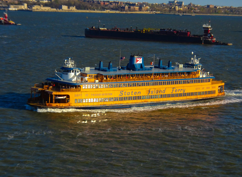 Staten Island Ferry - View from NCL Gem   Photo: Calvin Wood
