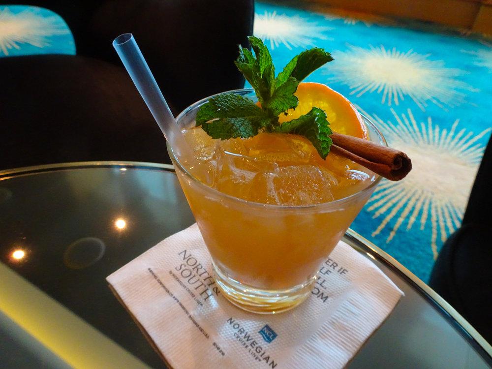 Cocktials - NCL Gem  Photo: Calvin Wood
