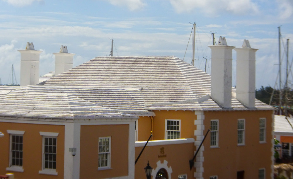 White Roofs - St. George, Bermuda   Photo: Calvin Wood