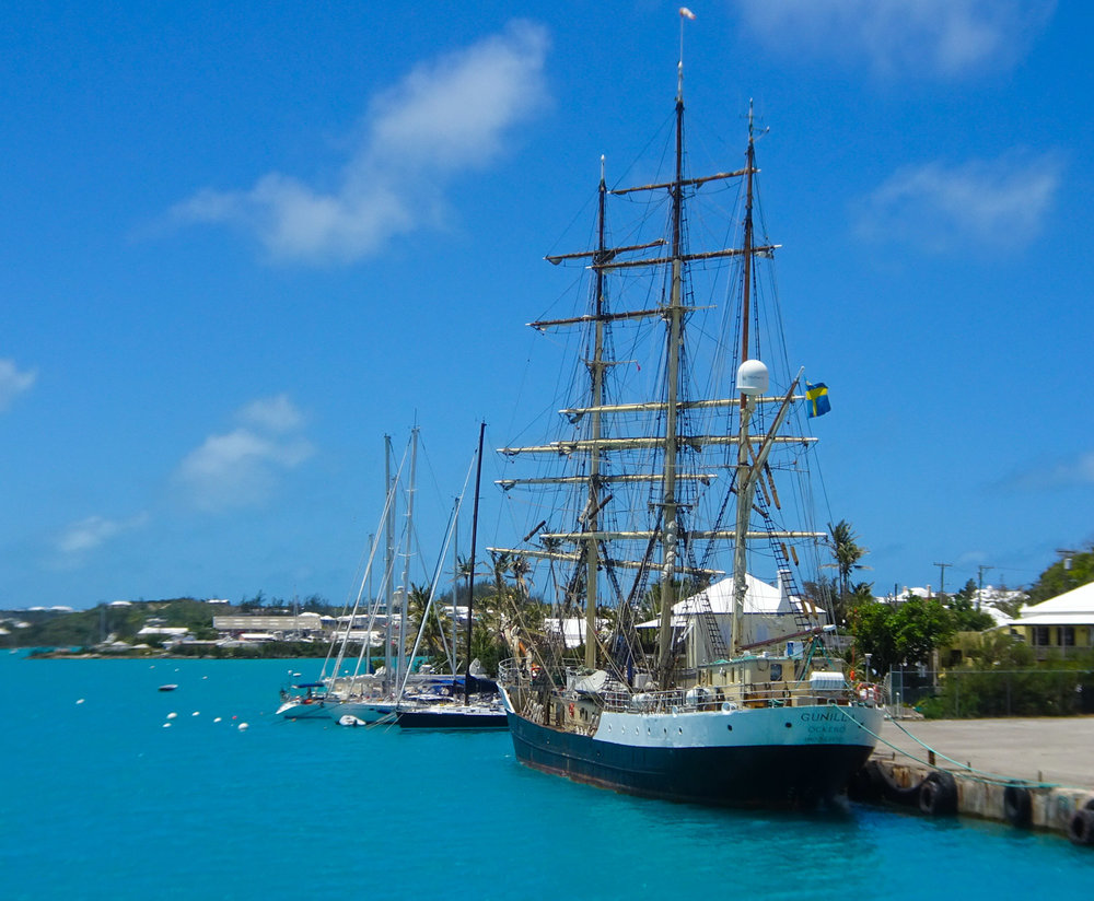Tall Ships - St. George, Bermuda   Photo: Calvin Wood