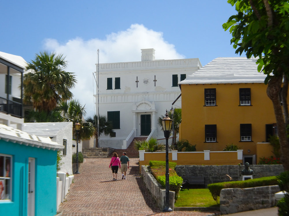 Original Legislature - St. George, Bermuda   Photo: Calvin Wood
