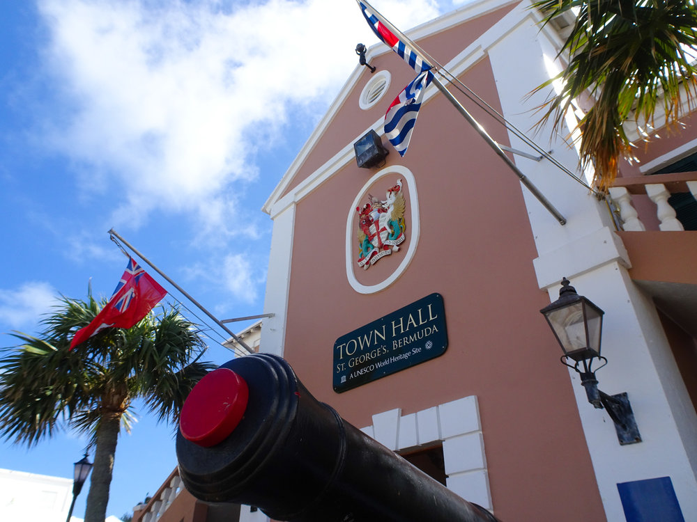 Town Hall - St. George, Bermuda   Photo: Calvin Wood