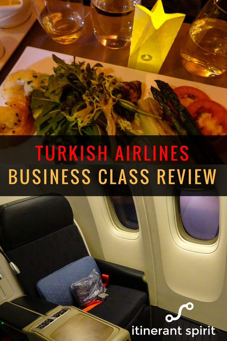 Turkish Airlines Business Class Review Boeing 777 - Itinerant Spirit