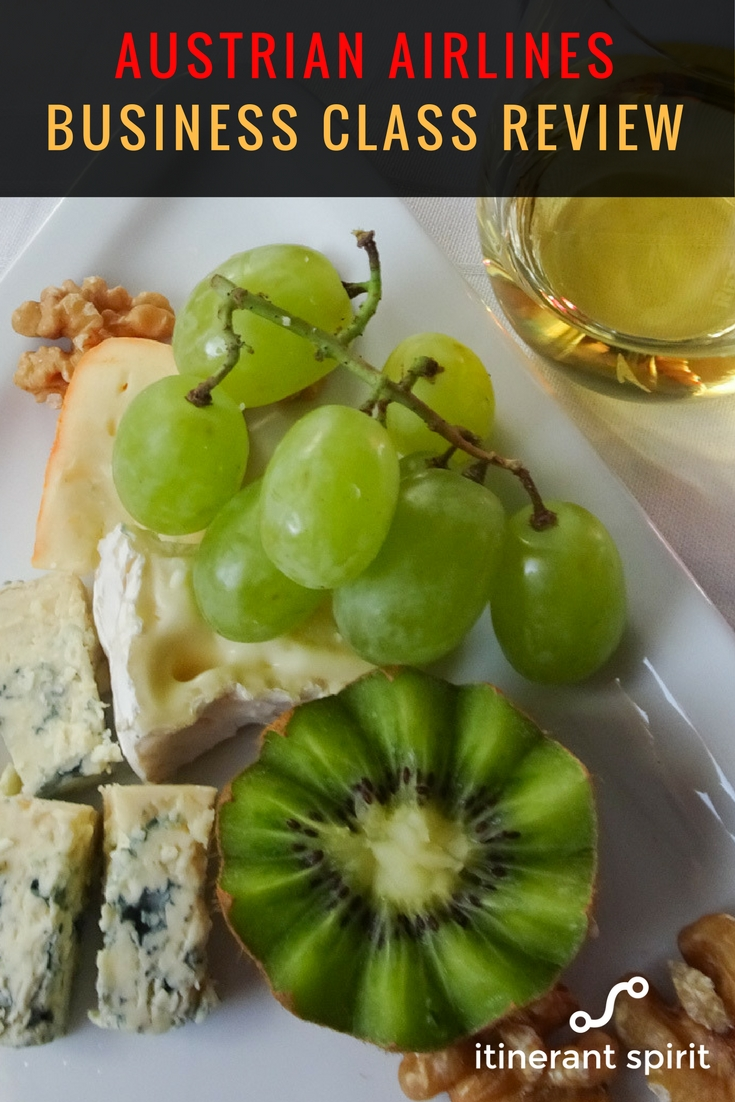 Austrian Airlines Business Class Review - Itinerant Spirit Blog