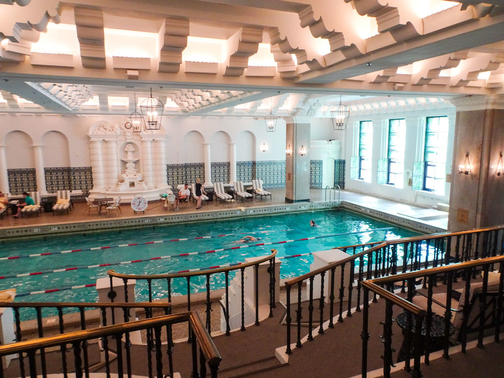 The Pool - Intercontinental Chicago   Photo: Calvin Wood