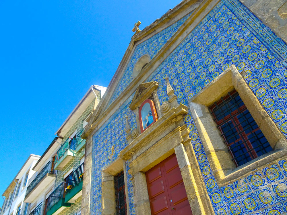 Blue Tiles - Porto   Photo: Calvin Wood