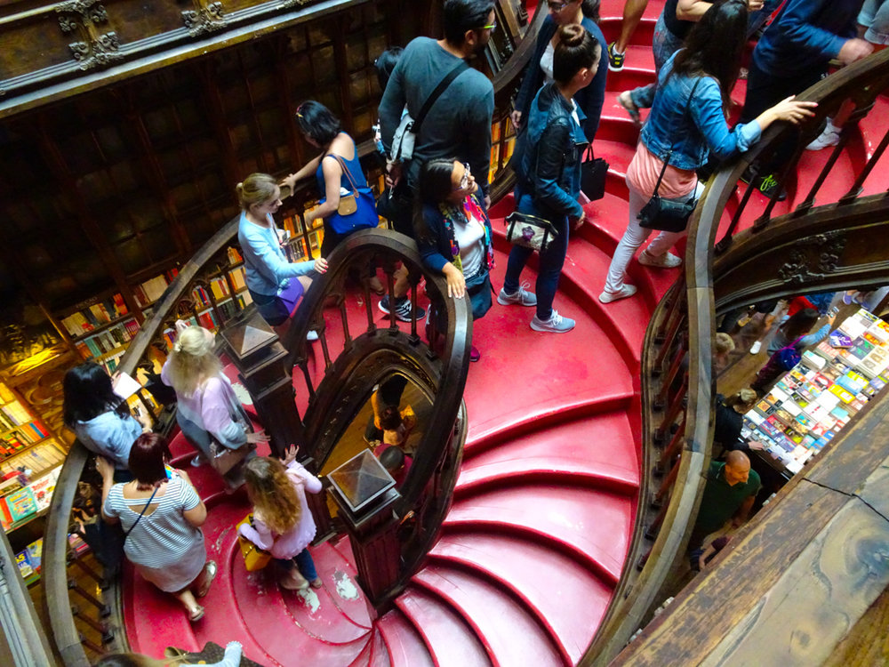 Livraroa Lello - Porto   Photo: Calvin Wood