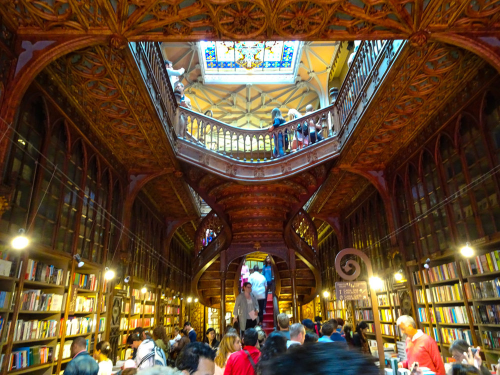 Livraria Lello - Porto   Photo: Calvin Wood