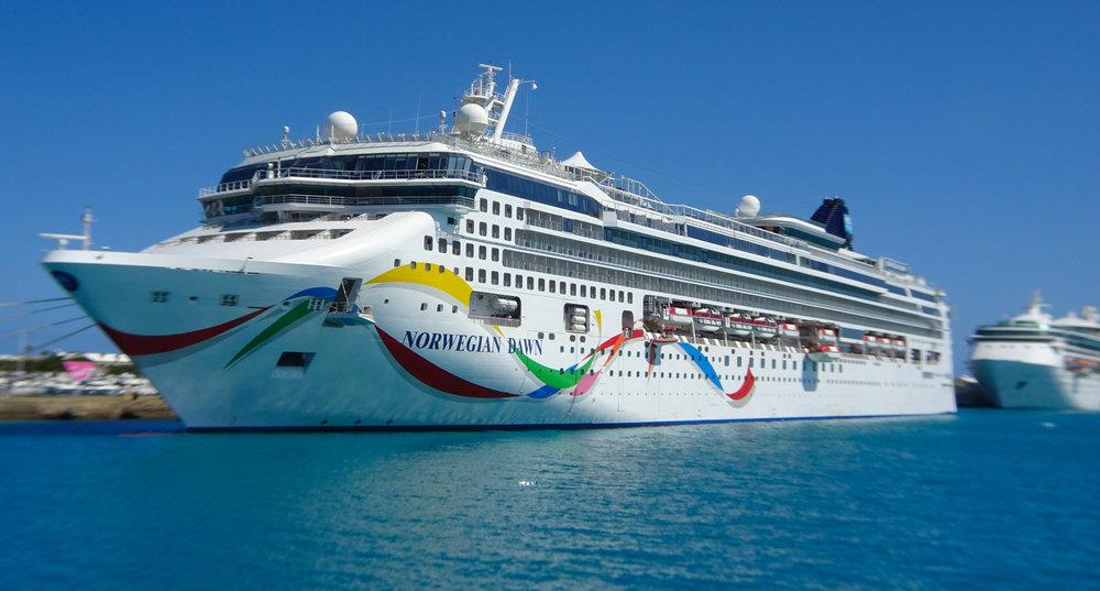 NCL Dawn in Bermuda  Photo: Calvin Wood
