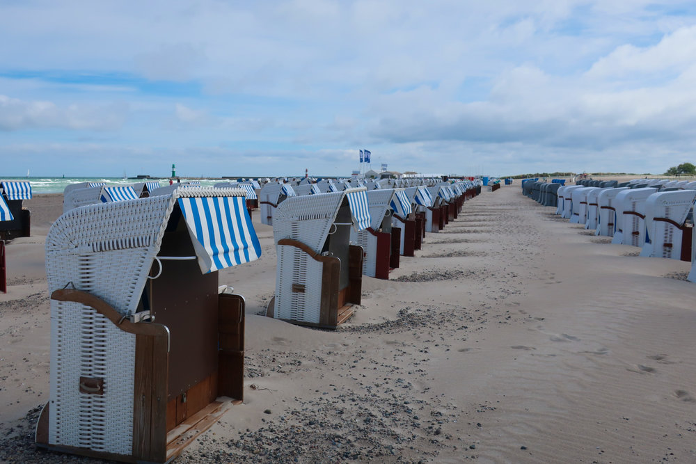 Beach Cabanas- Warnemunde, Germany   Photo: Calvin Wood