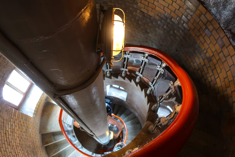 Lighthouse Climb - Warnemunde, Germany   Photo: Calvin Wood