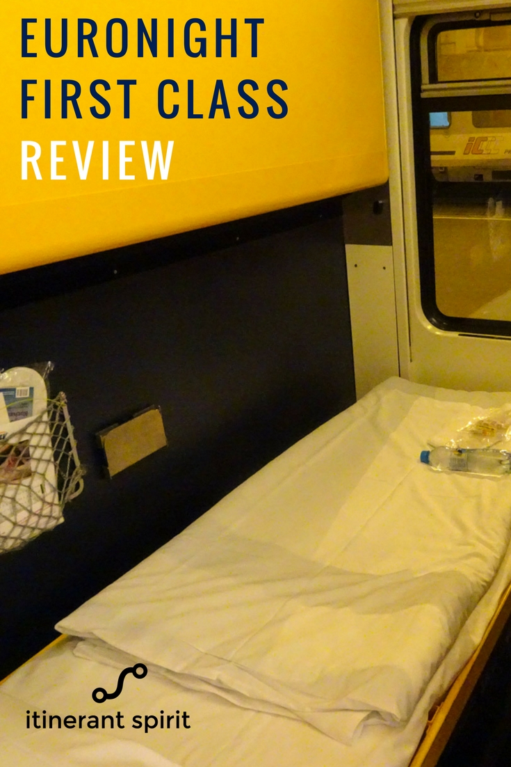 Euronight Rail - First Class - Review - Itinerant Spirit