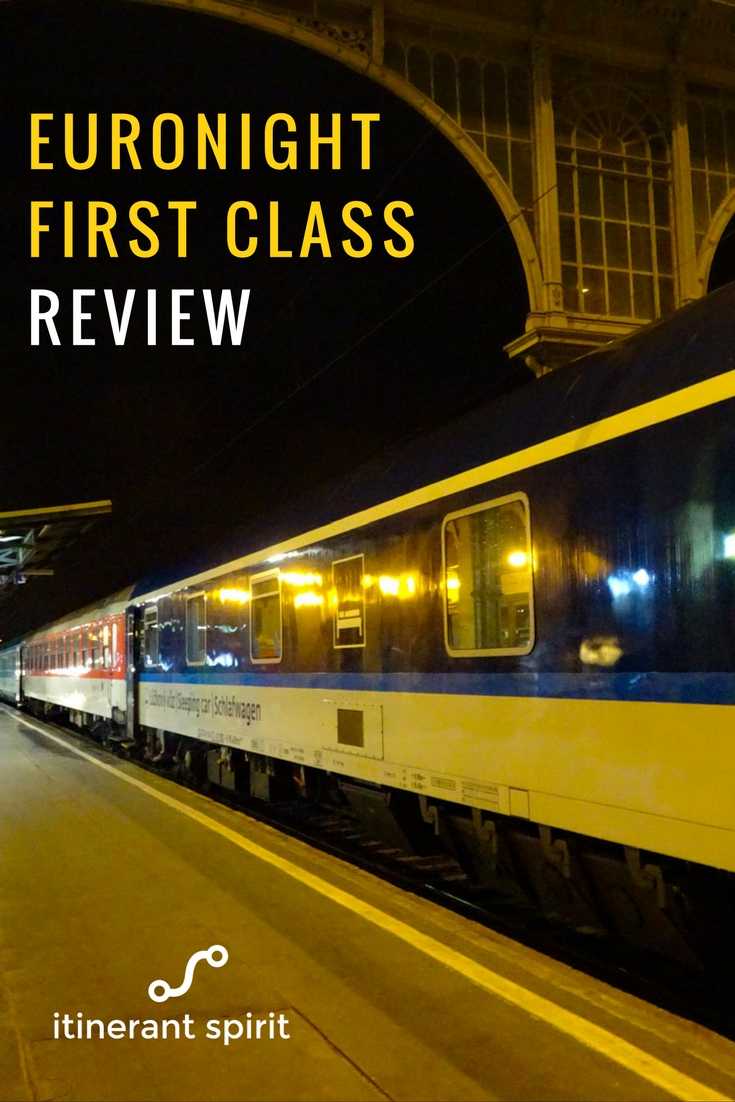 First Class Rail - Budapest to Berlin - Itinerant Spirit