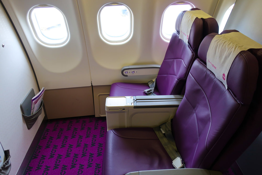 Car With First Class Seat