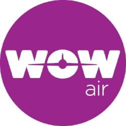 WOW Air's Bright Logo!