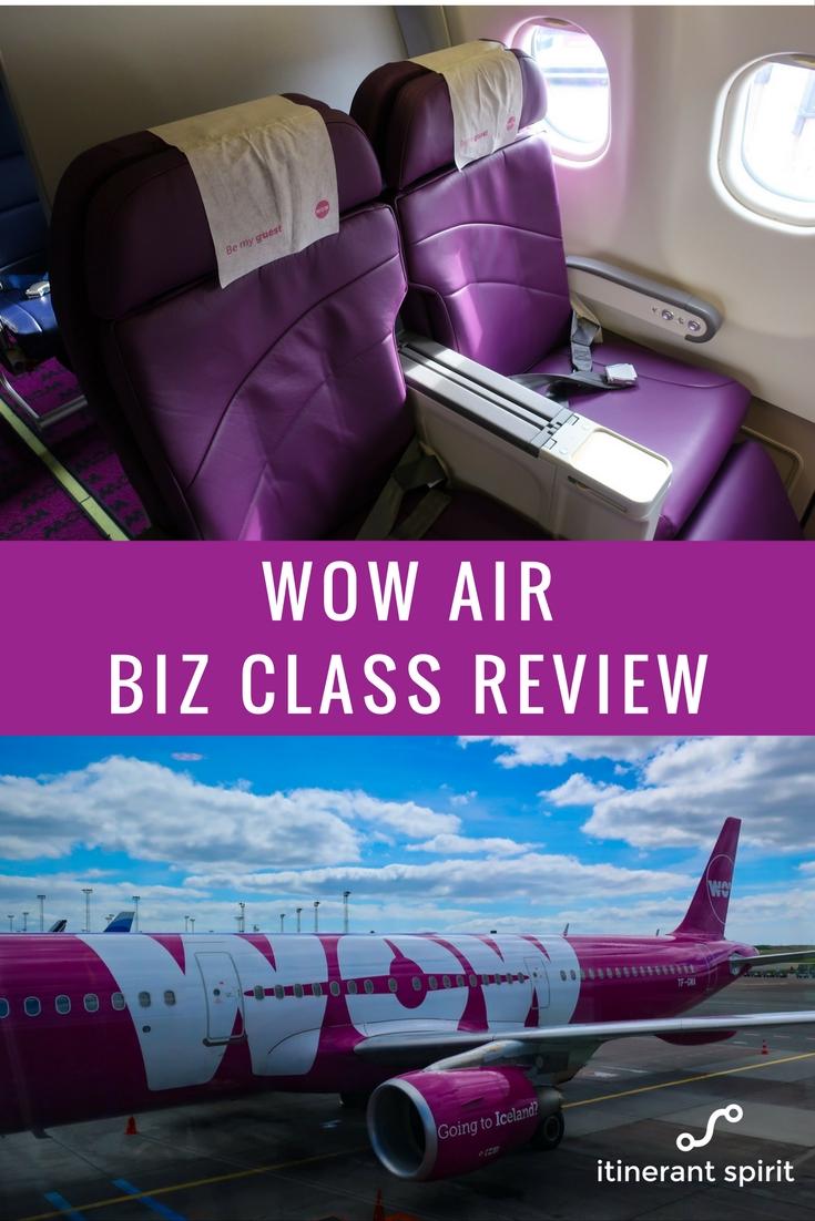 WOW Air Business Class - Review - Itinerant Spirit