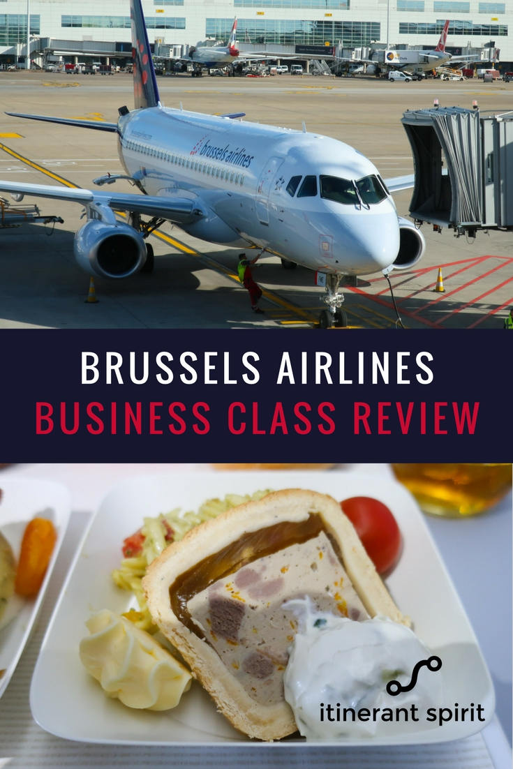 Brussels Airlines Business Class Review - Europe- Itinerant Spirit