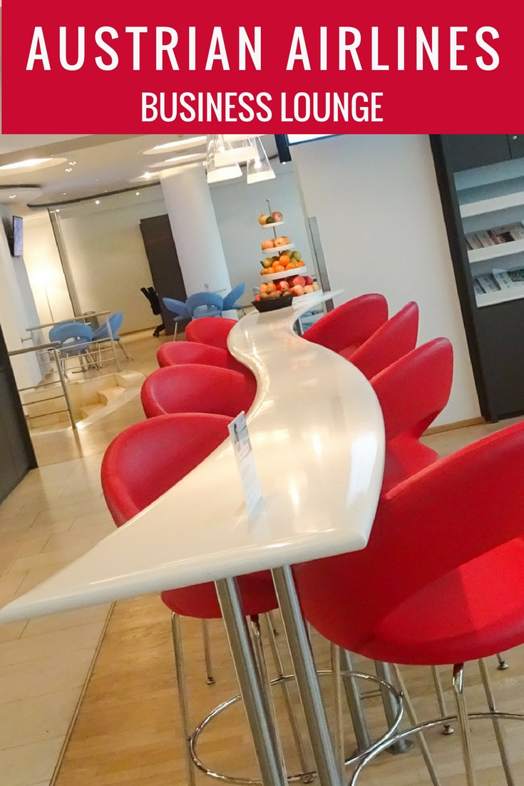 Austrian Airlines Business Lounge - Vienna Terminal D - Itinerant Spirit