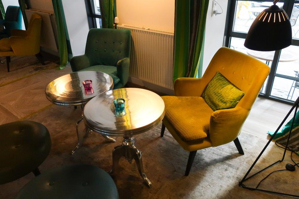Lobby Seating - Absalon Hotel Copenhagen  Photo: Calvin Wood