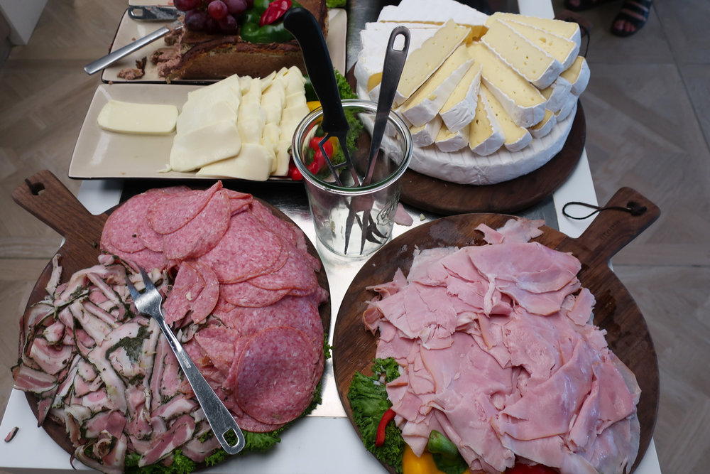 Ham and Cheeses - Breakfast - Absalson Hotel Copenhagen  Photo: Calvin Wood