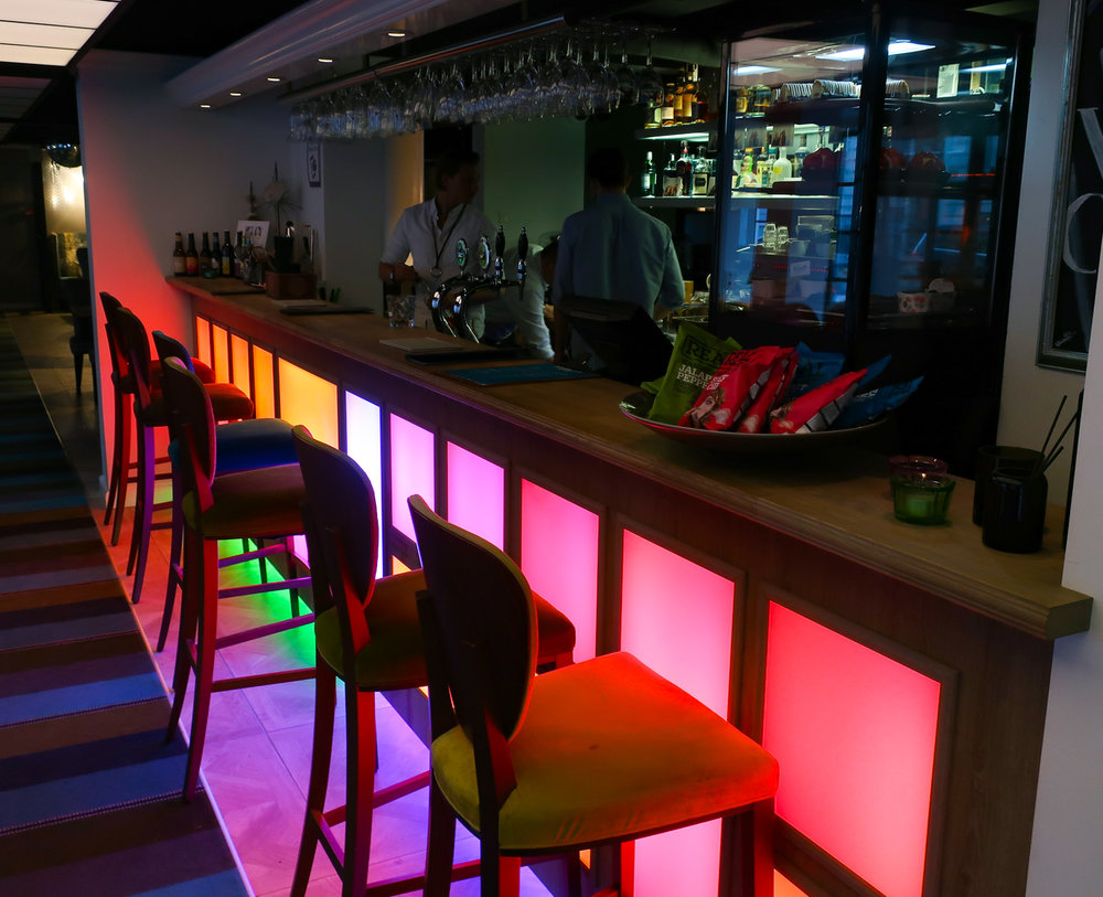 Lobby Bar - Absalson Hotel Copenhagen  Photo: Calvin Wood