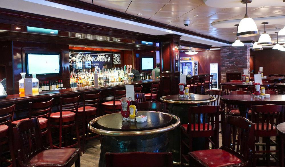 O'Sheenhan's Bar - NCL Getaway  Photo: Calvin Wood