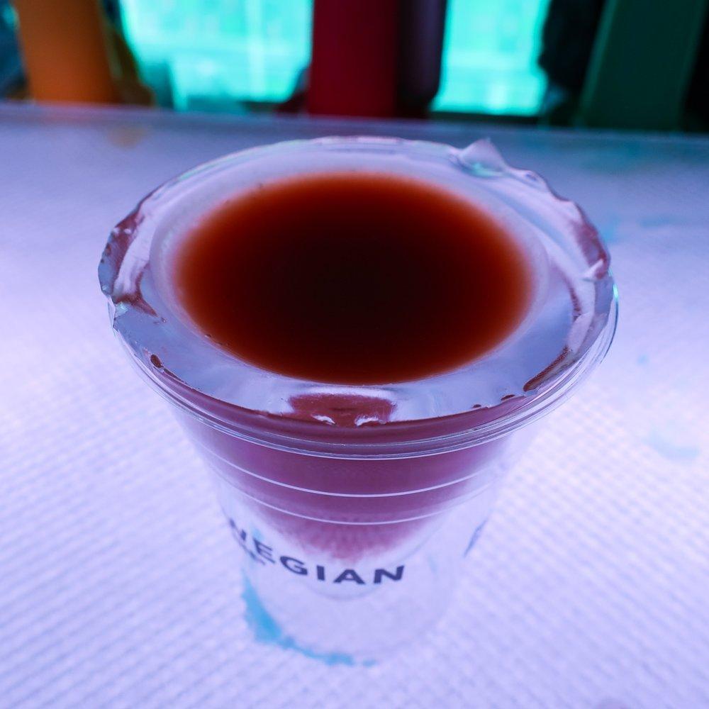 Key Largo Colada - Ice Bar - NCL Getaway  Photo: Calvin Wood