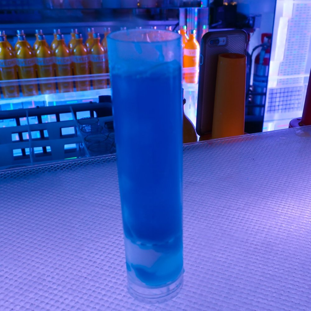 Cold Concoctions - Ice Bar - NCL Getaway  Photo: Calvin Wood