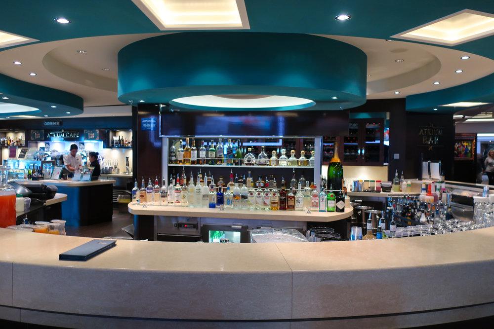 Atrium Bar - NCL Getaway  Photo: Calvin Wood
