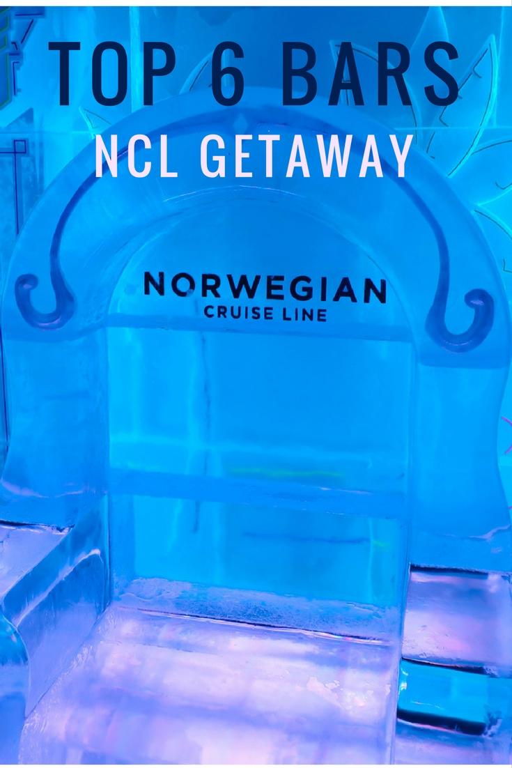 Top 6 Bars - NCL Getaway - Itinerant Spirit Blog