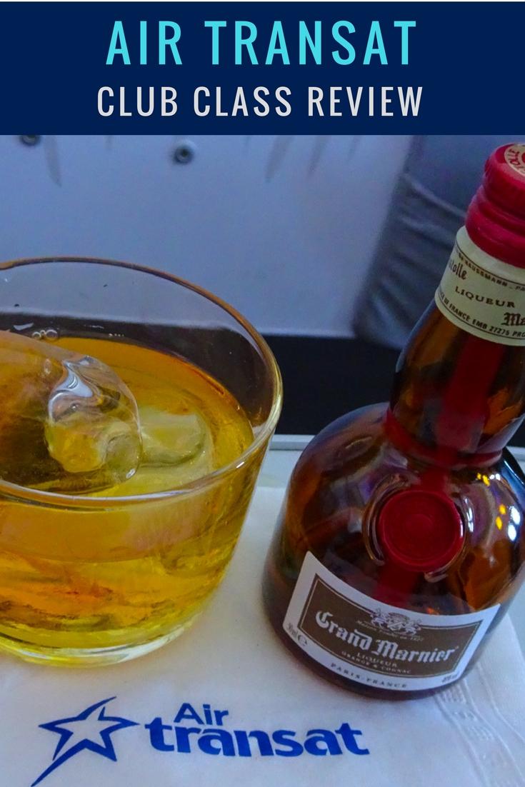 Air Transat Club Class Review - Itinerant Spirit Blog