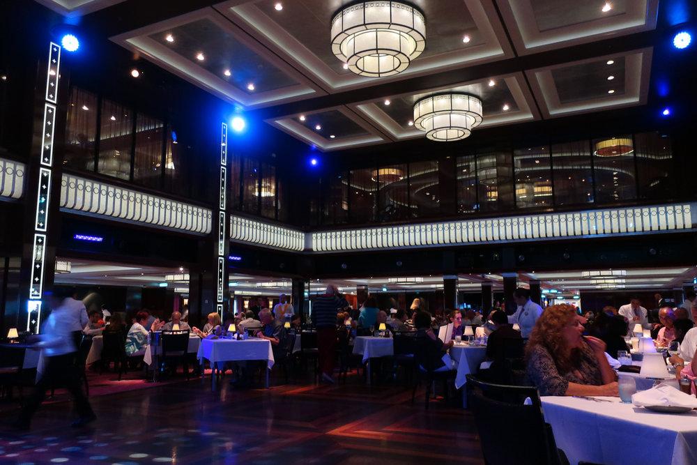 Dance Floor - Tropicana Dining Room - NCL Getaway  Photo: Calvin Wood